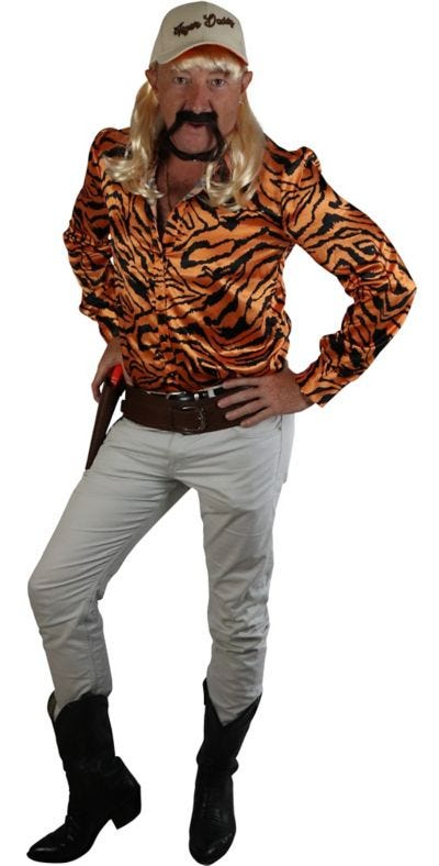 Adult Tiger Lover Costume Accessory Kit