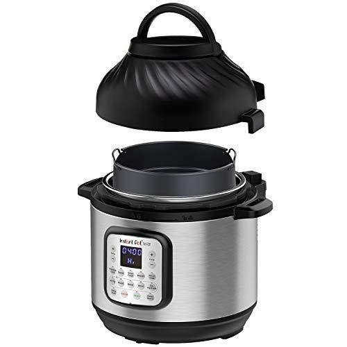 Instant Pot Duo Crisp Pressure Cooker 11 in 1, 8 Qt with Air Fryer lid