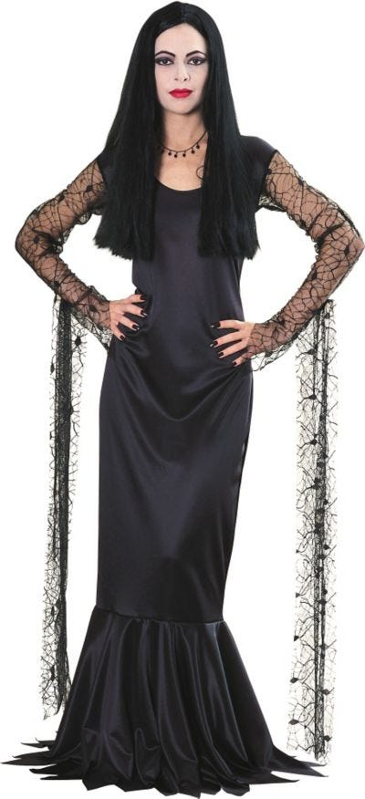 Adult Morticia Addams Costume - Addams Family