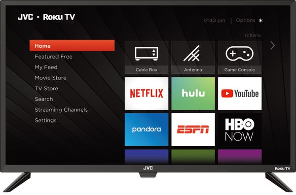 "JVC 32"" Class HD (720p) Roku Smart LED TV (LT-32MAW205)"