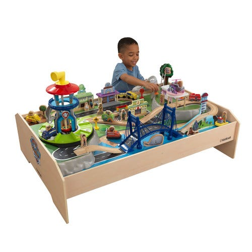 PAW Patrol Adventure Bay Wooden Play Table
