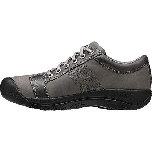 KEEN Men's Austin Hiking Shoe, Gargoyle/Neutral Gray, 11 M US