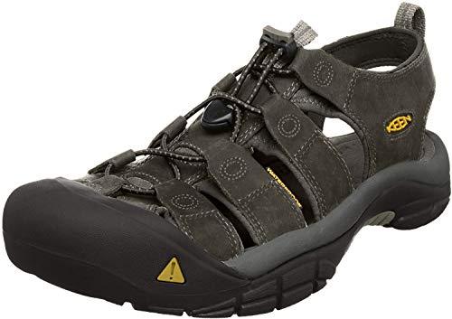 KEEN Men's Newport H2 Sandal, Neutral Gray/Gargoyle, 11 US Medium