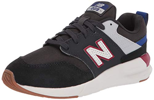 New Balance Kid's 009 V1 Lace-Up Sneaker, Phantom/Marine Blue, 5.5 M US Big Kid