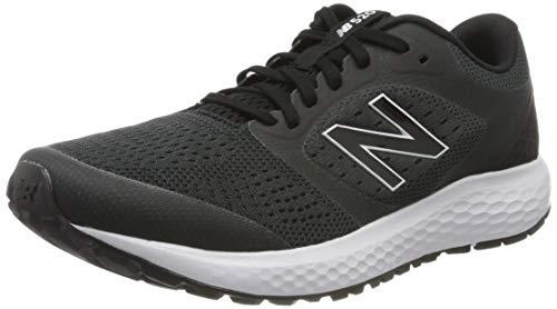 New Balance mens 520 V6 Running Shoe, Black/Orca, 9.5 US