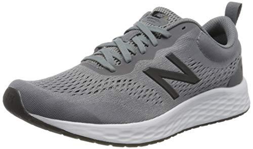 New Balance mens Fresh Foam Arishi V3 Running Shoe, Gunmetal/Steel, 10.5 US