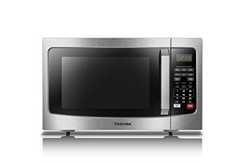 Toshiba EM131A5C-SS Microwave Oven with Smart Sensor, Easy Clean Interior