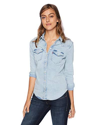 Levi's Women's The Ultimate Western Shirt, radio starry, Medium
