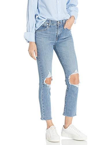 Levi's Women's 724 High Rise Straight Crop Jeans, Good Measure, 30 (US 10)
