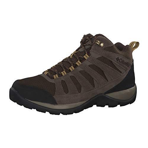 Columbia Men's Redmond V2 MID Waterproof Boot Hiking Shoe, Cordovan/Baker, 10