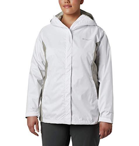Columbia Women's Arcadia II Jacket, White/Flint Grey, Medium