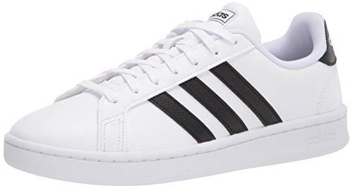 adidas Women's Grand Court, Black/White, 8 M US