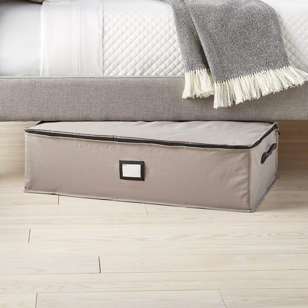 Grey Under Bed Storage Bag