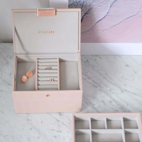 Stackers Mini Lidded Box Blush