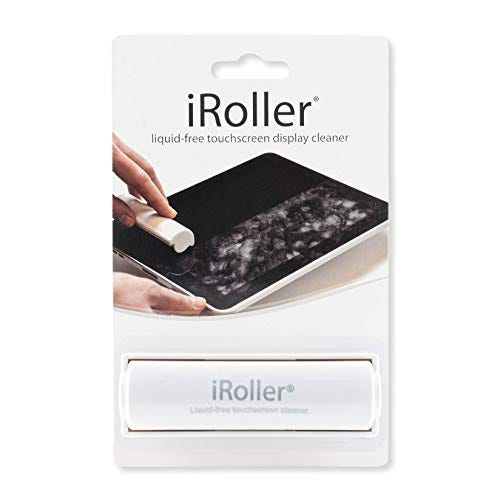 iRoller Screen Cleaner - Reusable, Liquidless Touchscreen Non-Chemical Cleaner