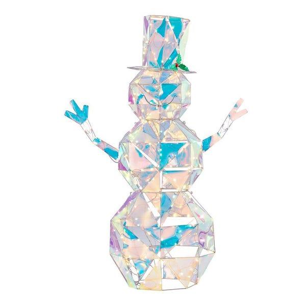 Iridescent Snowman