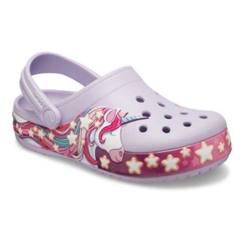 Crocs FunLab Unicorn Band Girls' Clogs