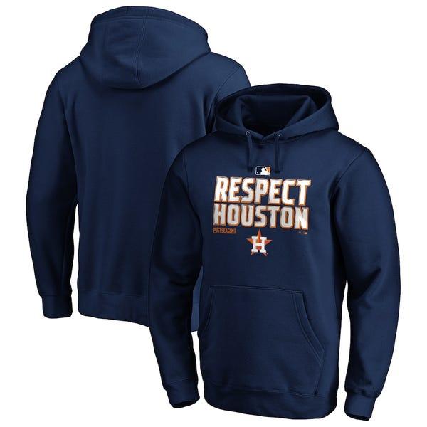 Houston Astros Fanatics Branded 2020 Postseason Locker Room Pullover Hoodie - Navy