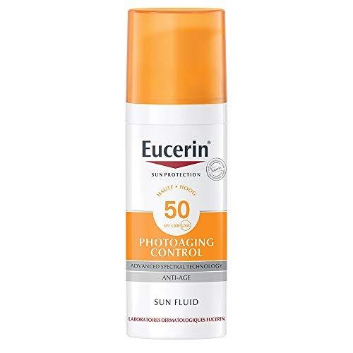 Eucerin Photoaging Control Sun Fluid with hyaluronic acid SPF 50