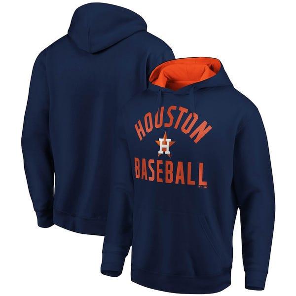 Houston Astros Fanatics Branded Team Pride Pullover Hoodie - Navy/Orange