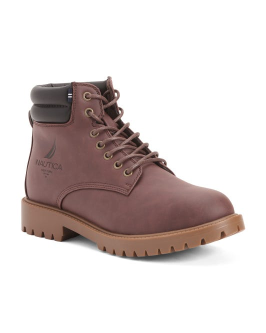 Men's Lace Up Work Boots