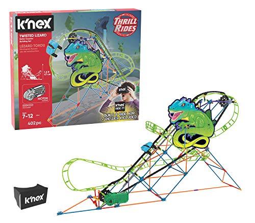 K'NEX Thrill Rides – Twisted Lizard Roller Coaster