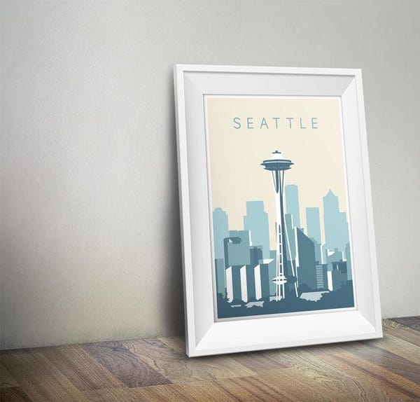 Seattle Poster   Travel Poster