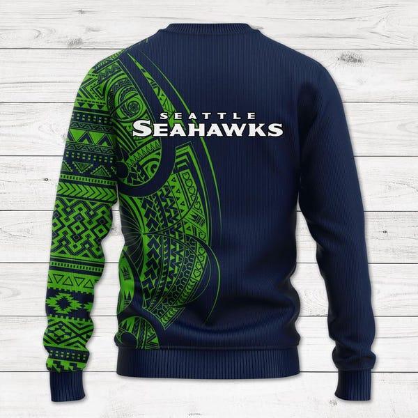 Seattle Seahawks wool sweater