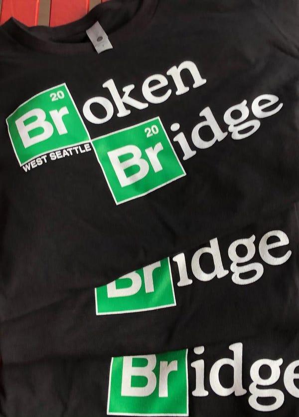 Broken Bridge 2020 West Seattle Tee