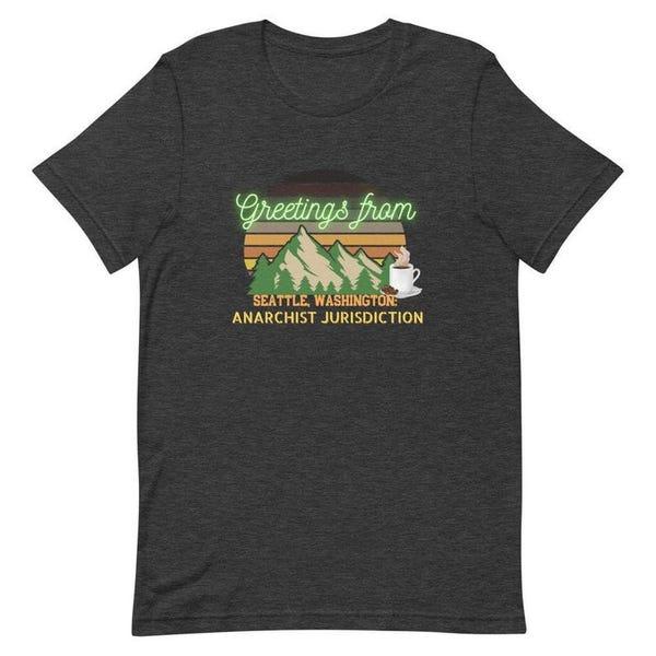 Seattle Anarchist Jurisdiction T-Shirt