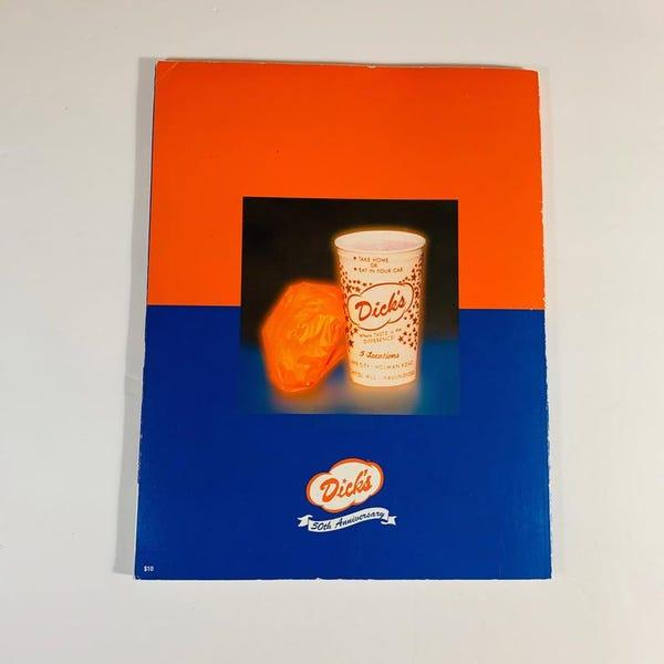 Dick's Burgers 50 Year Anniversary Book