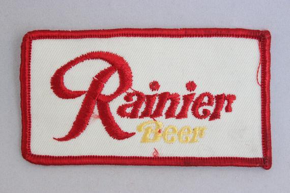 Rainier Beer Patch
