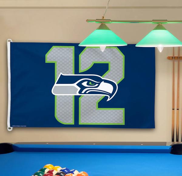 Seattle Seahawks WinCraft 3' x 5' 12s Flag