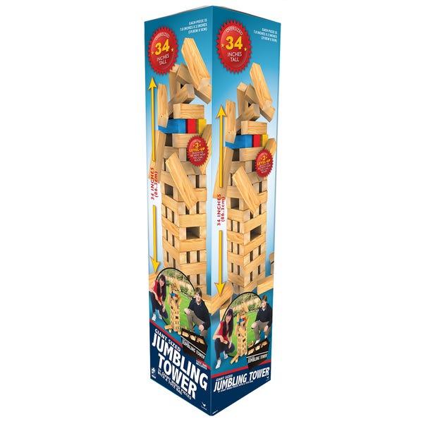 Giant Wood Jumbling Tower