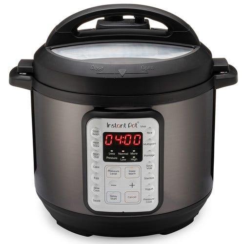 Instant Pot VIVA Black Stainless 6-Quart Pressure Cooker