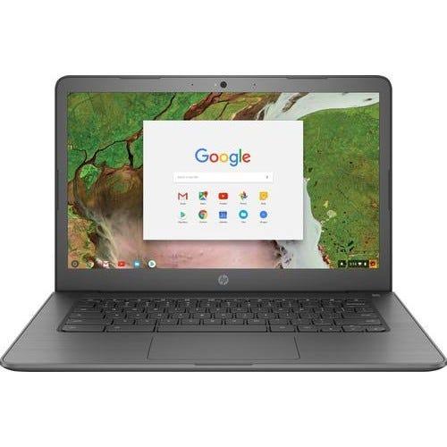 "HP 14"" Touch-Screen Chromebook - Grey"
