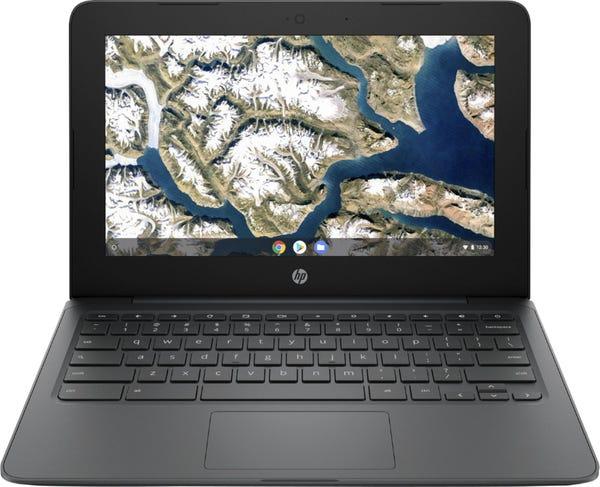 "HP 11.6"" Chromebook - Ash Gray"
