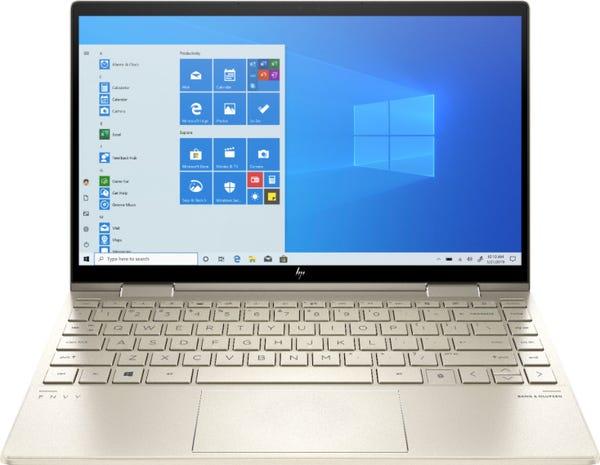"HP ENVY x360 2-in-1 13.3"" Touchscreen Laptop - Intel Core i7 - 8GB Memory - 512GB SSD - Pale Gold"