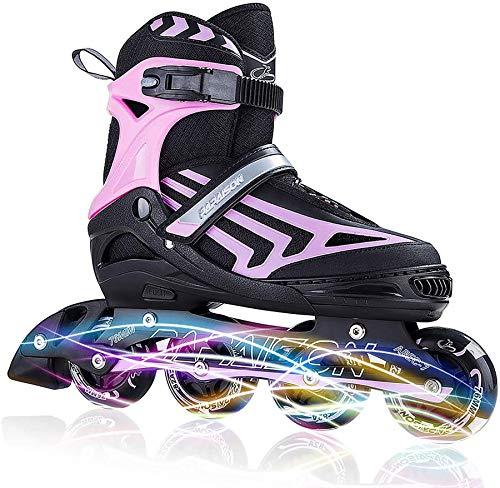 ITurnGlow Boys Adjustable Inline Skates