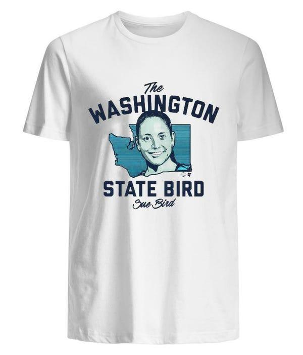 The Washington State Bird, Sue Bird Shirt