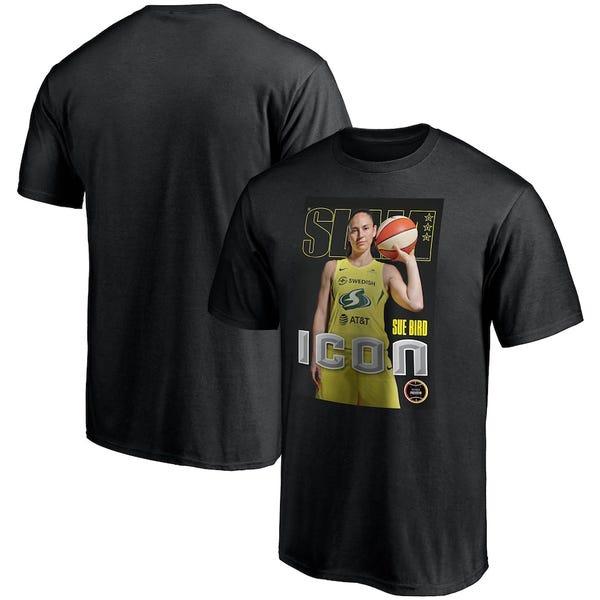Sue Bird Seattle Storm Slam Cover T-Shirt
