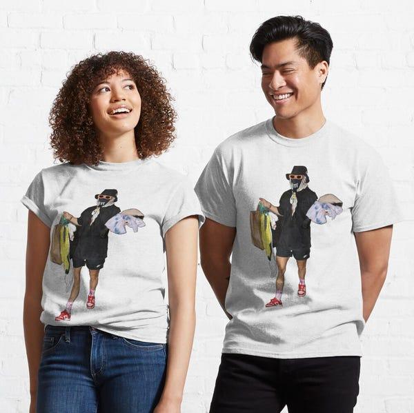 Megan Rapinoe in the Wubble Classic T-Shirt