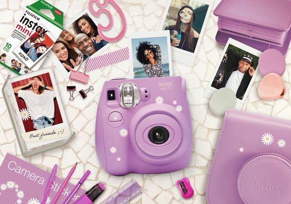 Fujifilm Instax Mini 7s Lavender Bundle