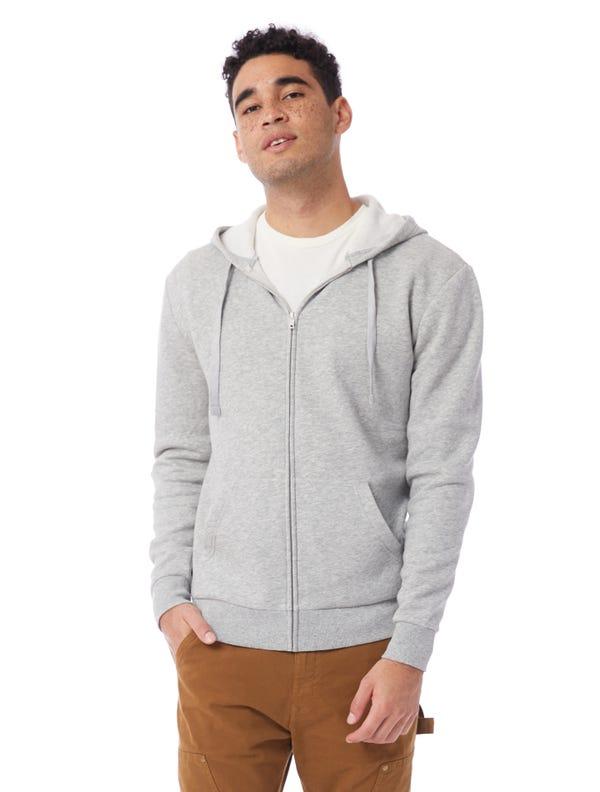 Eco-Cozy Fleece Zip Hoodie