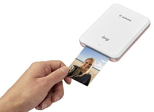 Canon IVY Mobile Mini Photo Printer through Bluetooth