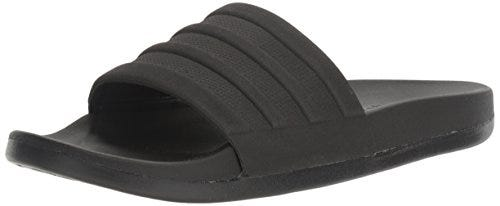 adidas Men's Adilette Comfort Slide Sandals, Black