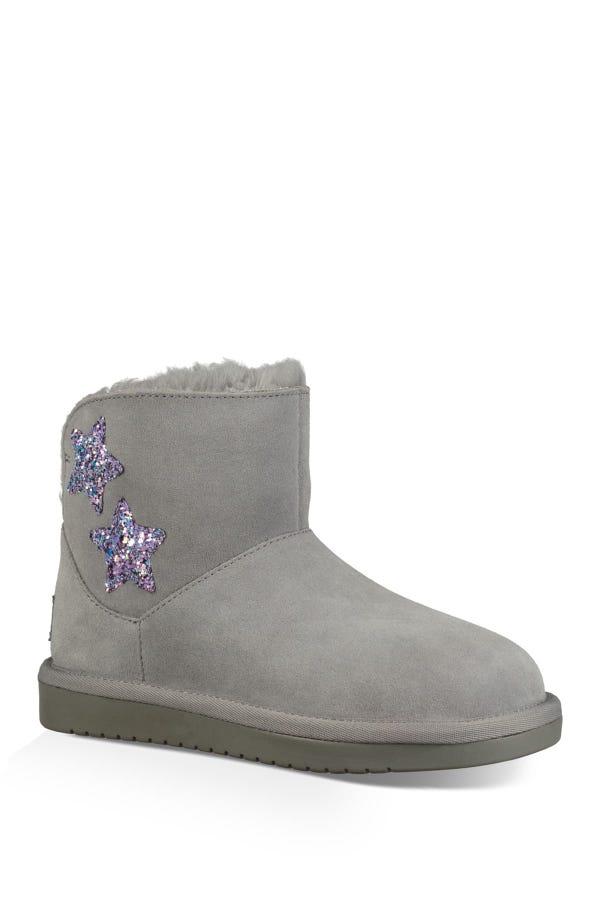 Koola Faux Fur Lined Star Mini Boot
