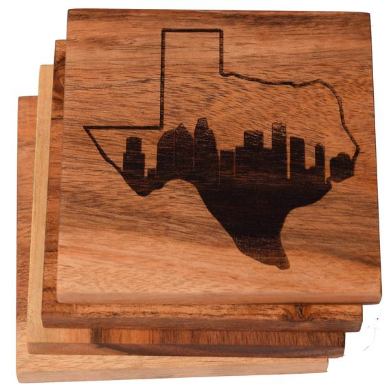 Houston Coasters Houston in Texas Skyline Coasters