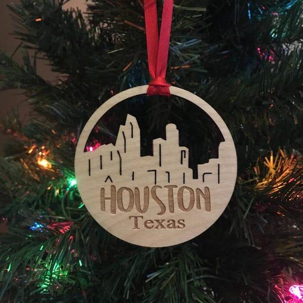 Houston Texas Ornament