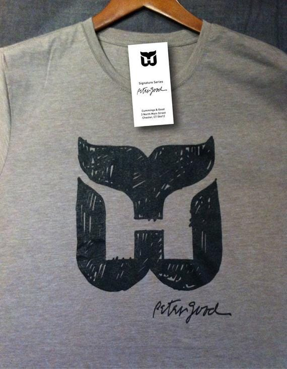 """Whalers """"Sketch & Signature short sleeve T-shirt"""